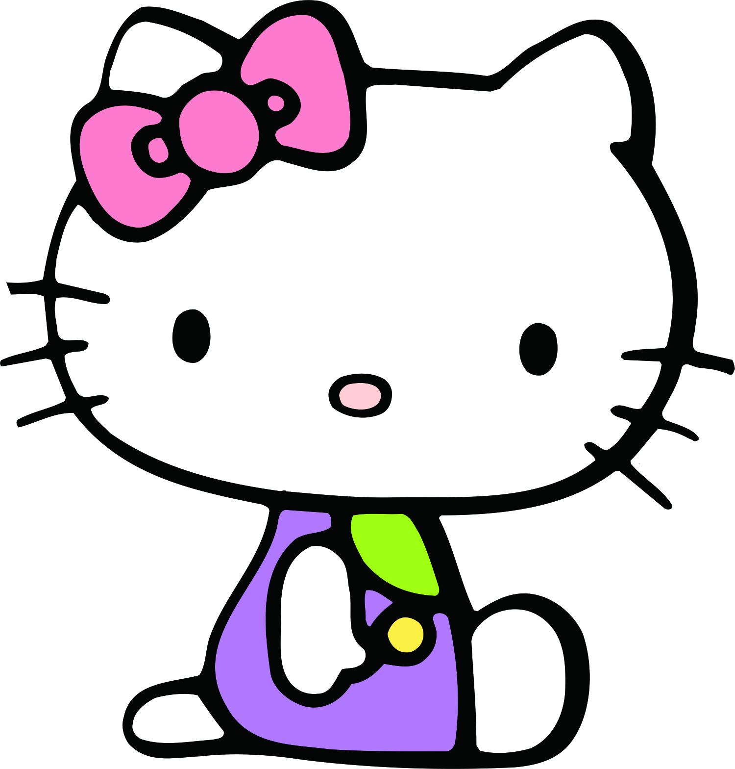 Tribal Hello Kitty: Sticker Hello Kitty