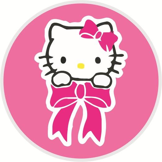 Tribal Hello Kitty: Desain Pin Hello Kitty